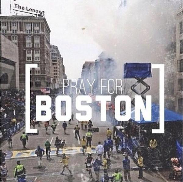 Selebritis Korea untuk Tragedi Boston