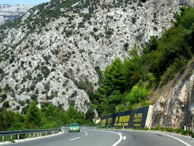 roads of Montenegro