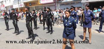 DESFILE CÍVICO JANAÚBA 2013 GUARDA MIRIM VETERANOS