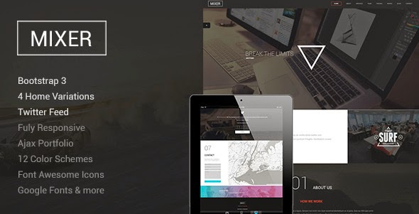 Responsive One Page Template