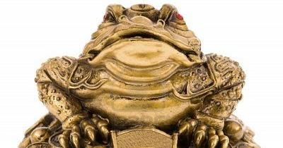 Las ranas de la suerte mi rinc n m gico - Rana de tres patas feng shui ...