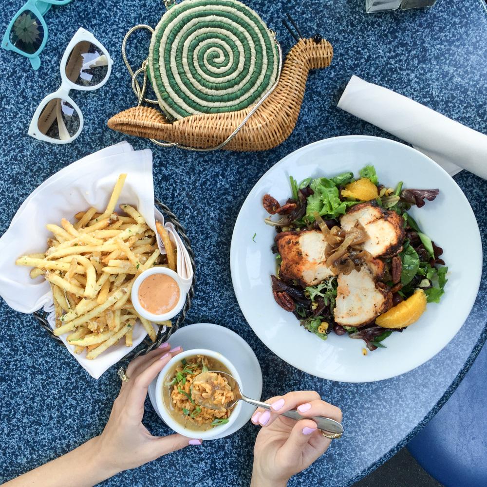Disneyland Food Blog- Cafe Orleans