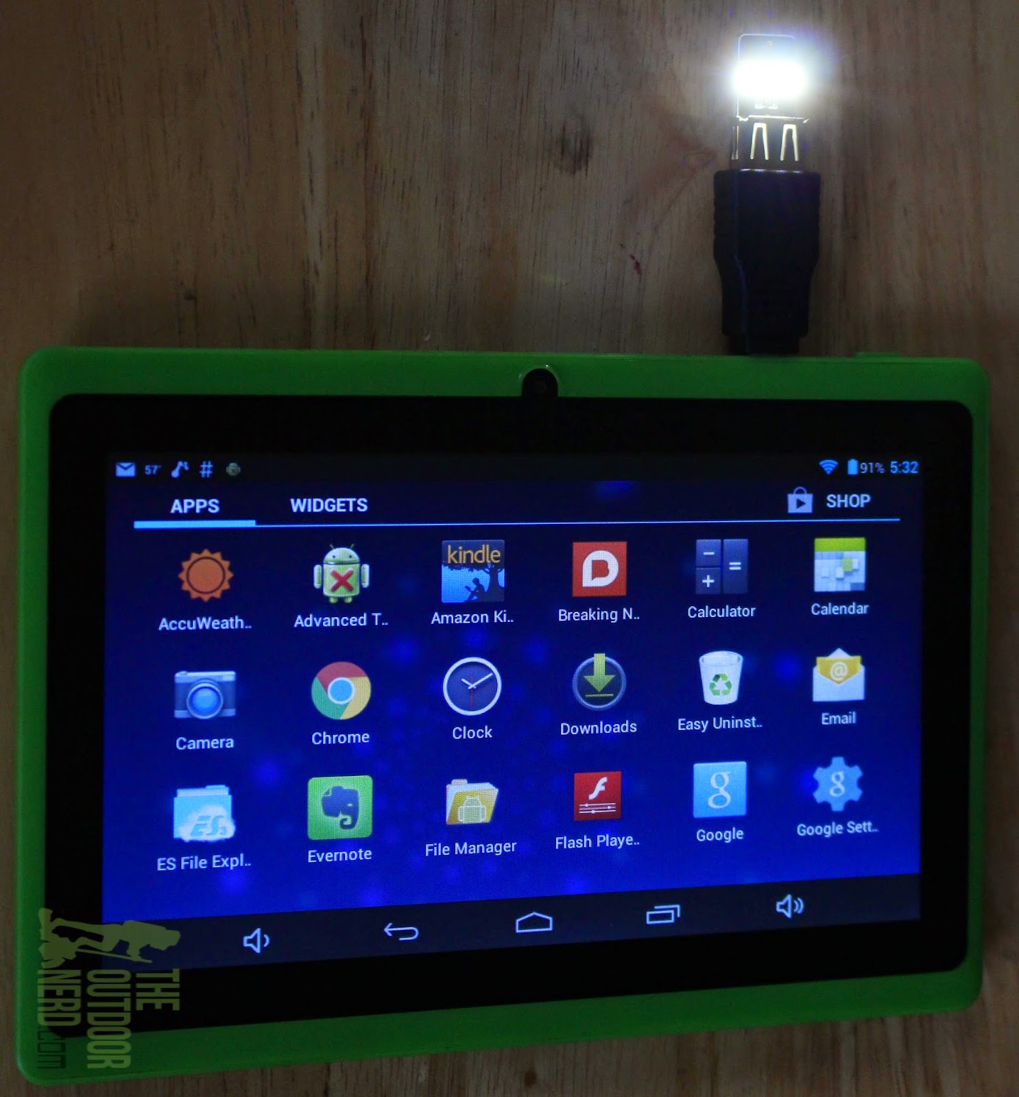 Tablets for Survival: With LED Nightlight Chip