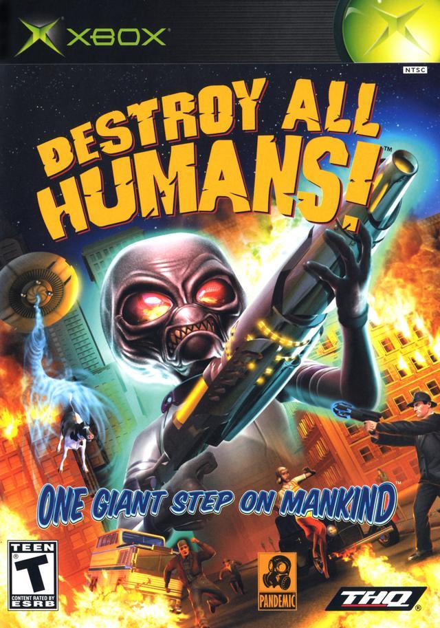 Xbox Destroyallhumans Destroy All Humans  [ XBoX ]