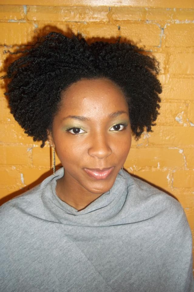 Twist out and tapered in the back. This looks good.