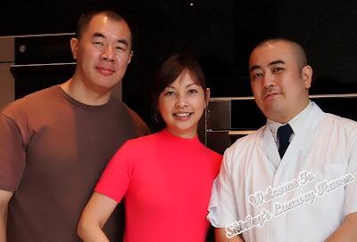chef takahashi of hashi japanese with luxury haven