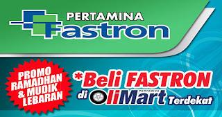 Fastron Mudik Lebaran bonus polo shirt