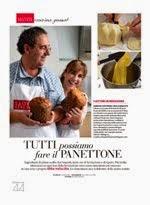 Il nostro panettone sul n. di Dicembre della  Cucina Italiana