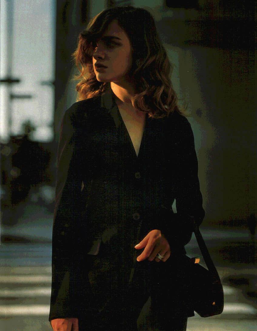 Natalia Vodianova in Elle France September 2004 (photography: Jan Welters)