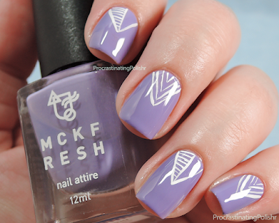 31DC2015 - Violet - Freehand V design