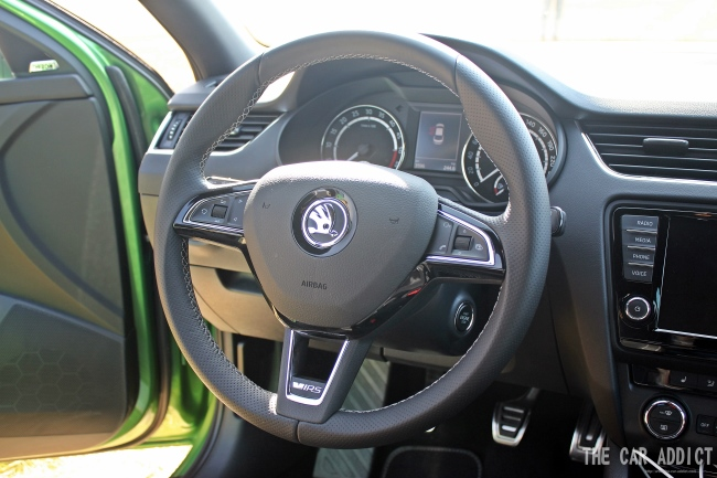 Skoda Octavia RS Steering Wheel