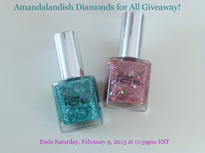 Amandalandish&#39;s Diamonds for All Giveaway!