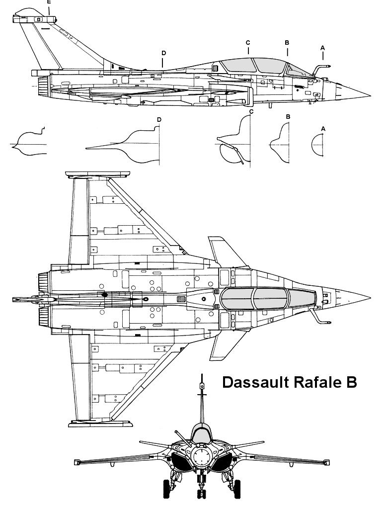 My catia v5 dassault aviation rafale 3 plan view reverse for View plans
