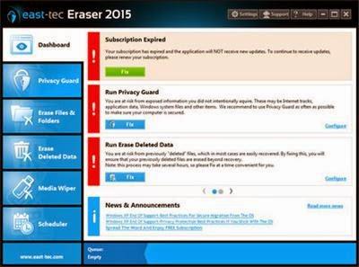 East Tec Eraser Crack Serial Key Generator Portable Free Download