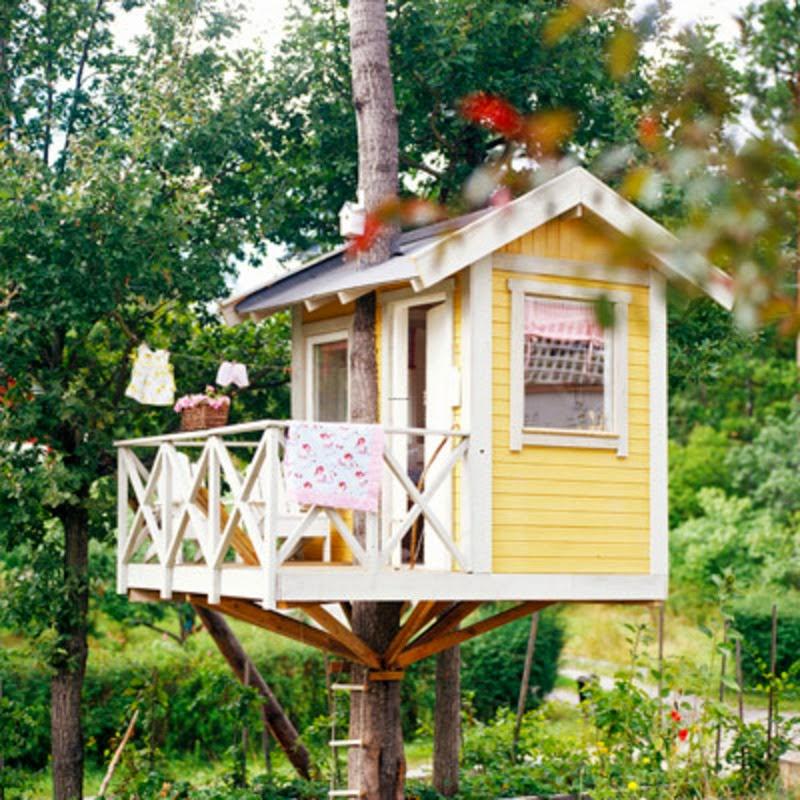 Desain Rumah Pohon Menarik