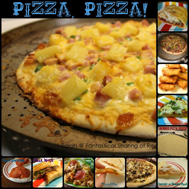 Pizza, Pizza! 13 pizzarific #recipes for all your #pizza cravings! | www.fantasticalsharing.com