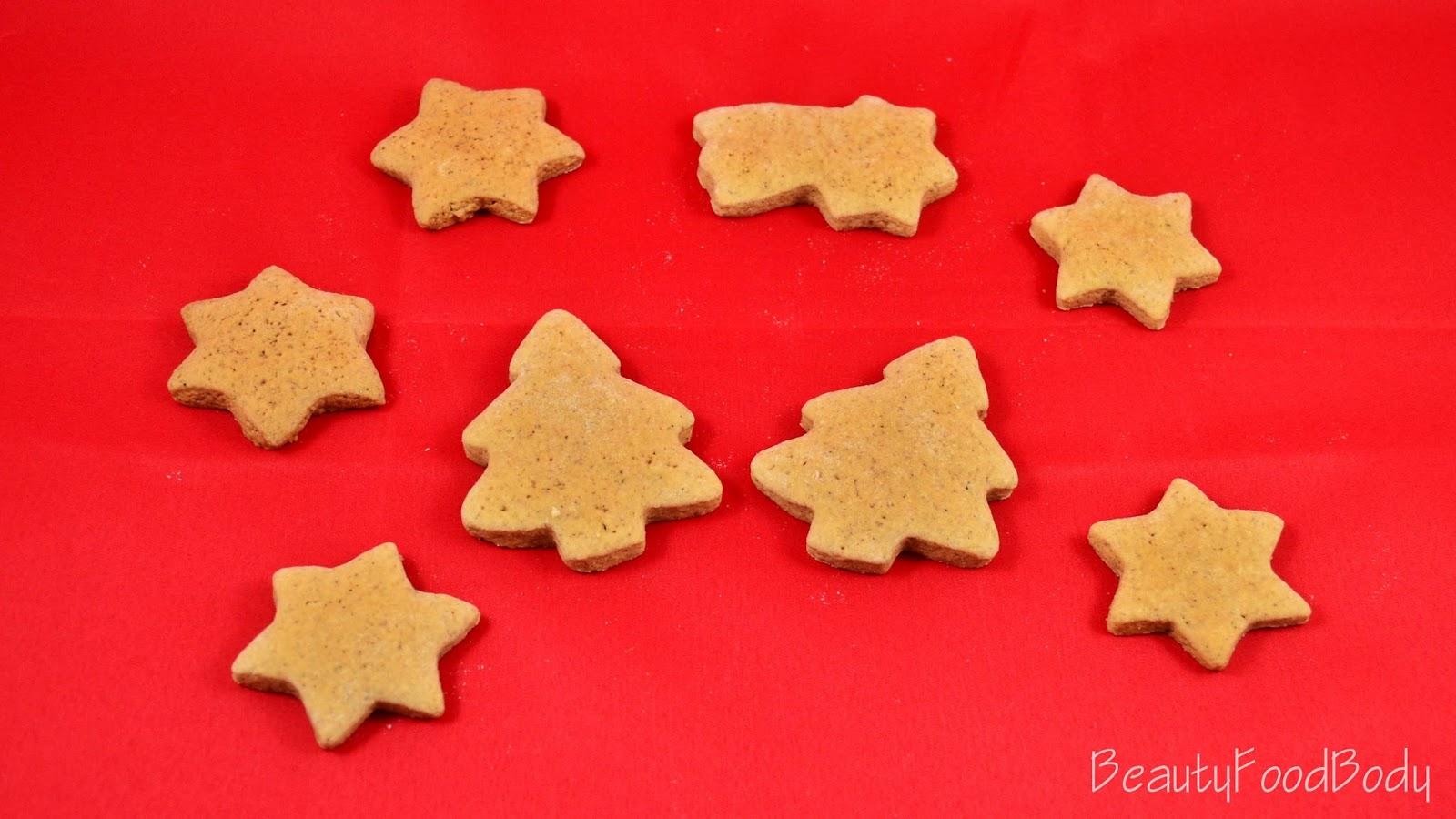 BFB beauty food galletas navidad christmas cookies canela jengibre