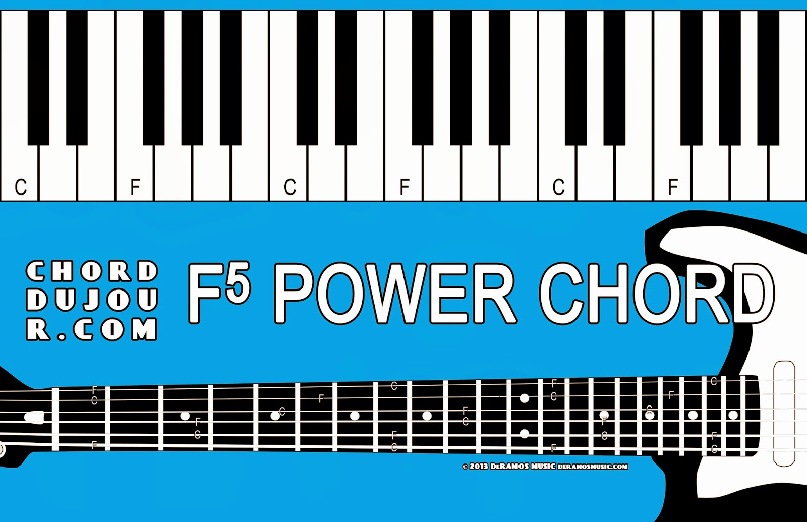 Chord du jour dictionary f5 power chord dictionary f5 power chord hexwebz Choice Image