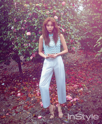 Uee After School - InStyle Magazine May Issue 2015