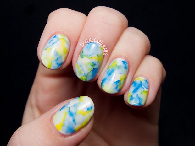 easiest nail art sharpie