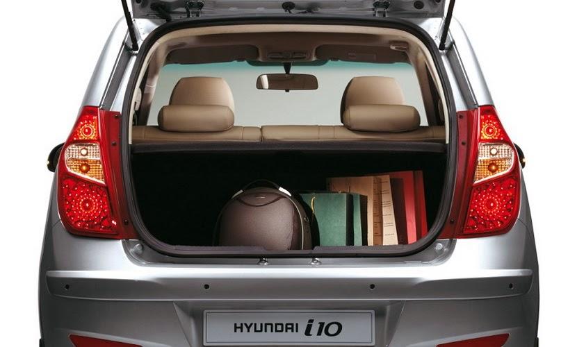 portbagajul noului Hyundai i10