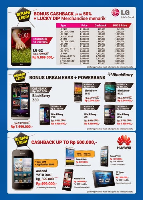 Global Teleshop Promo LG, BB dan Huawei di MBC 2014