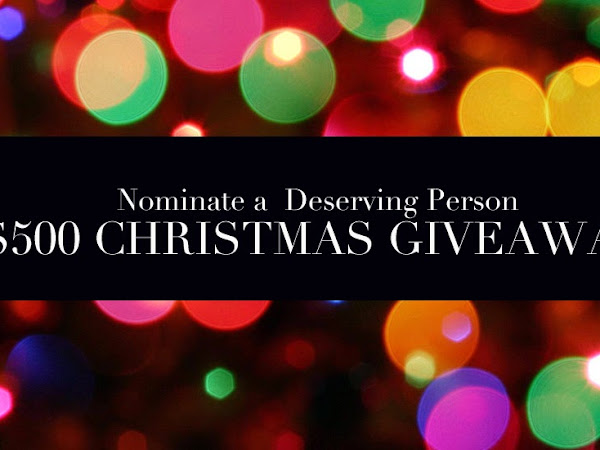 Nominate a Deserving Person in Need for a $500 VISA Card