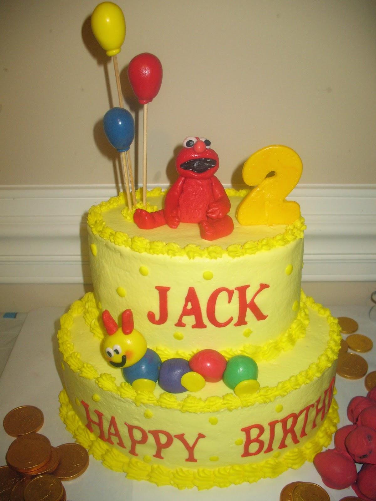 Elmo Baby Einstine Birthday Cake Cakes By Mary Ann