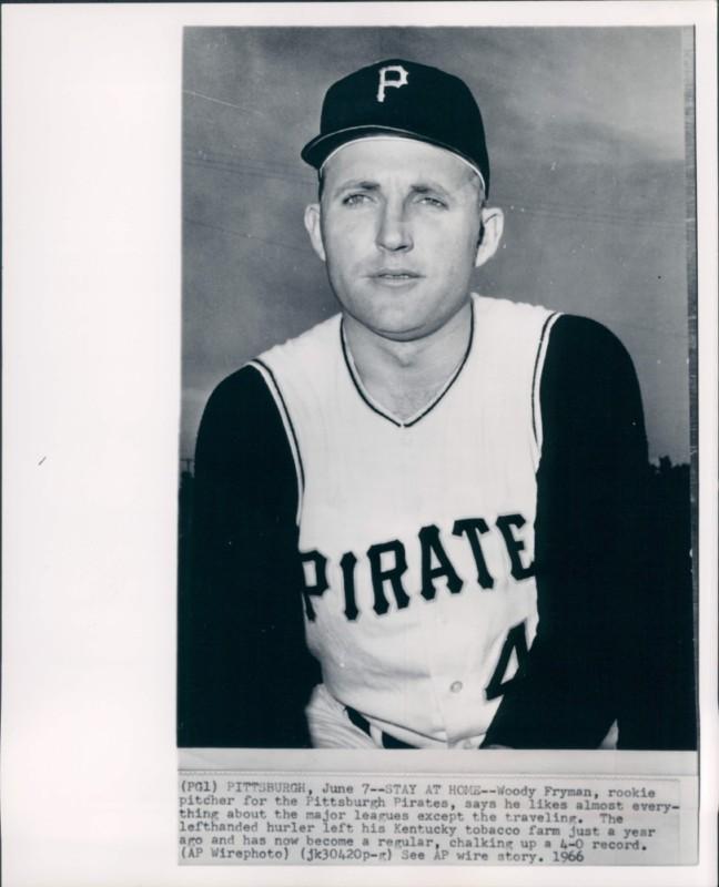 Woody Fryman 1966-1967