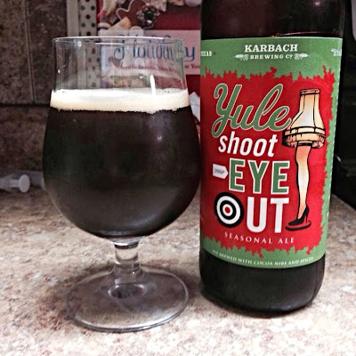 Beer Apostle Karbach S Yule Shoot Your Eye Out 2012