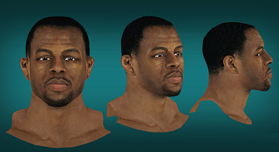 NBA 2K13 Andre Iguodala Cyberface Patch Mods