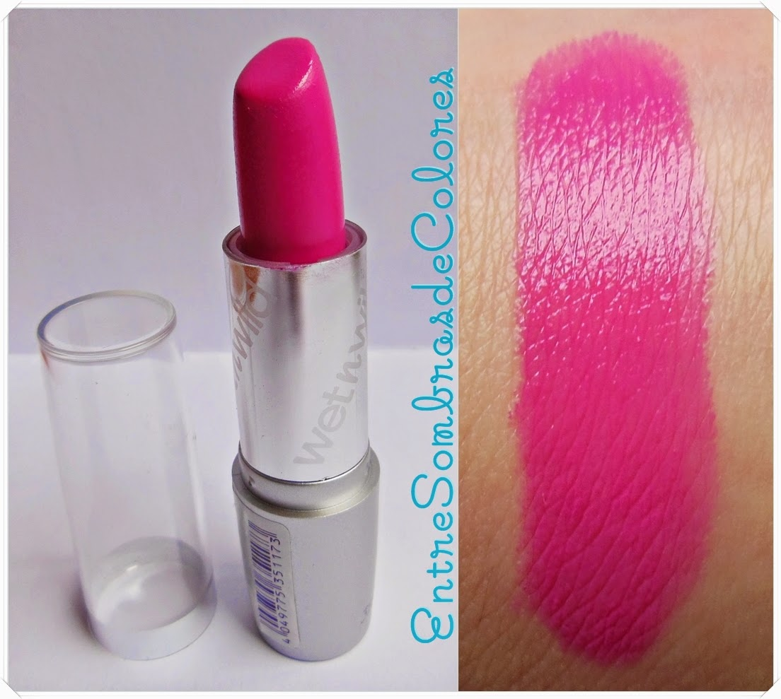 511B Nouveau pink labiales Silk finish Wet n Wild