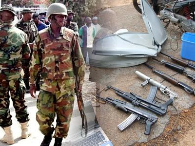 boko haram weapons nigerian military