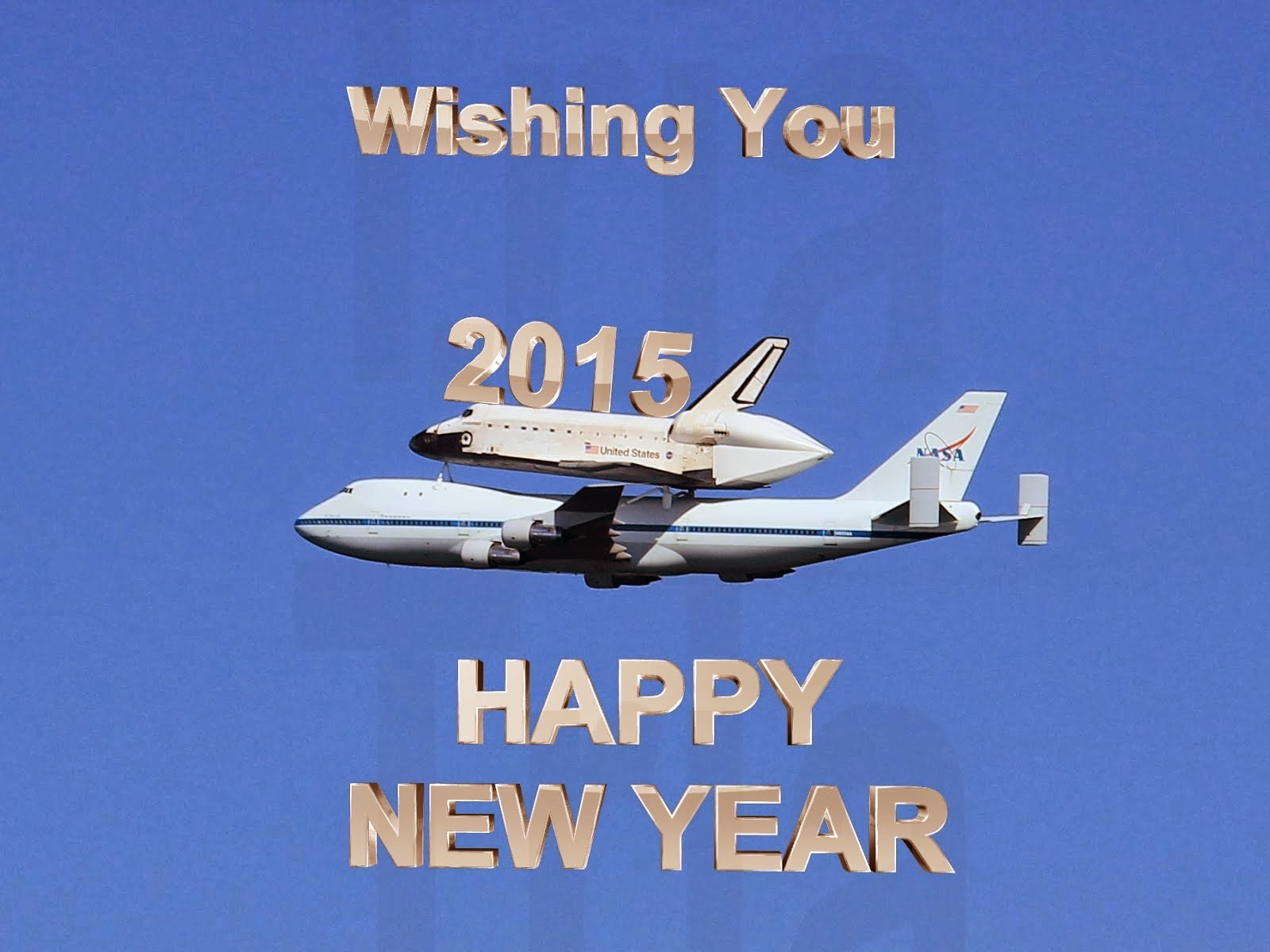 Happy New Year 2015 Wishing Wallpaper Free Dowanloading