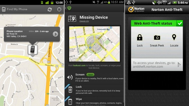 How to track your stolen Android phone ?
