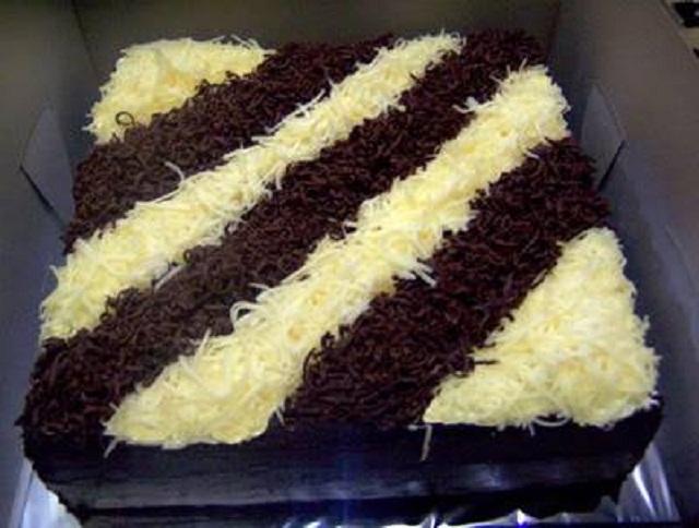 Cake Coklat Keju