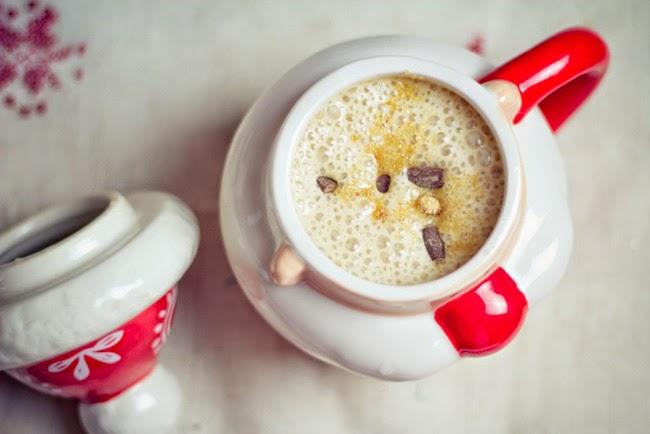 Winterlicher Smoothie vegan gesund rezept