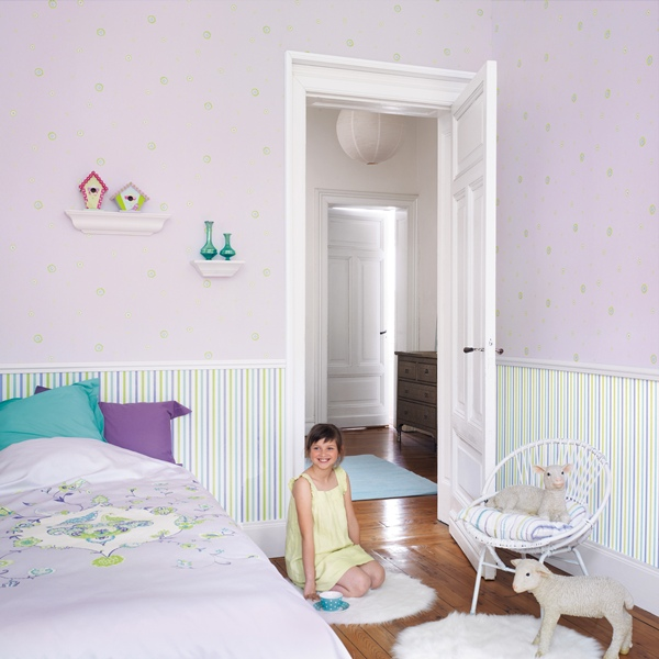 Papel pintado papel pintado infantil my room for Papel vinilico infantil