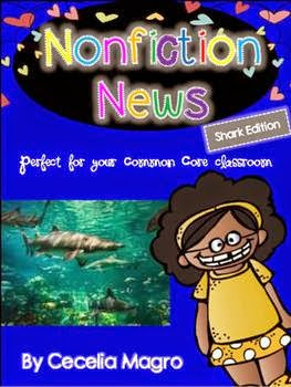 https://www.teacherspayteachers.com/Product/Non-Fiction-News-Common-Core-Close-Reading-Writing-K-2-Shark-Edition-1187352