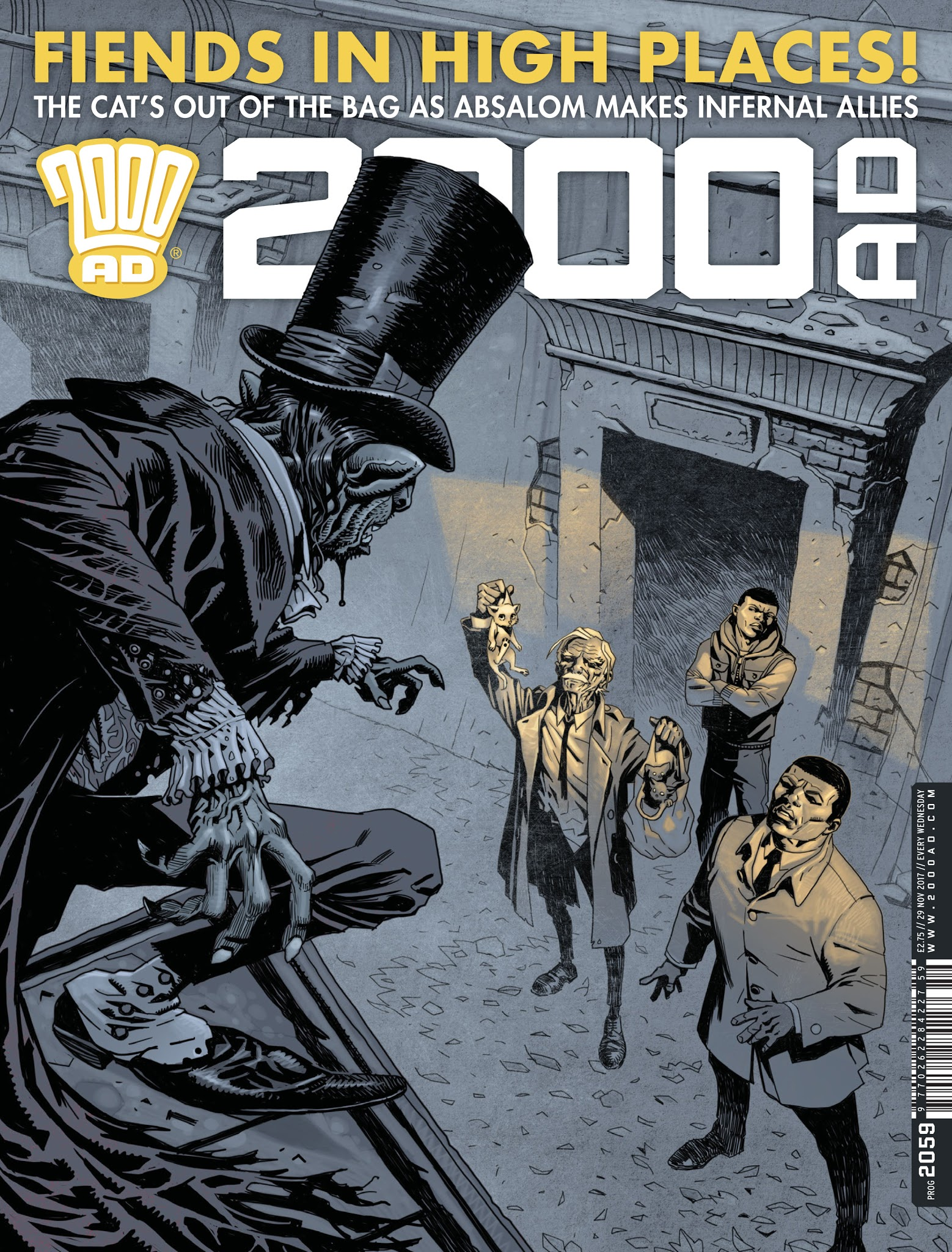 2000 AD 2059 Page 1