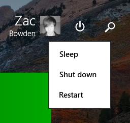 New Start Screen buttons on Windows 8.1 Update 1