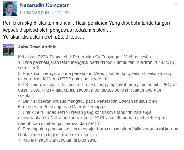 Penjelasan Pak Nazarudin Tentang Pendataan Dapodik