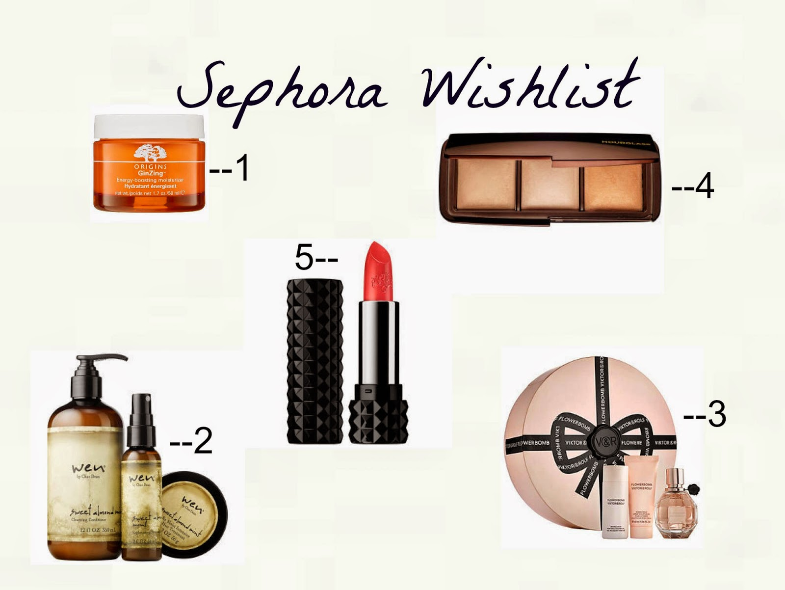 sephora wishlist,  Viktor & Rolf Flowerbomb Gift Set, Chaz Dean Healthy Hair Care Kit, Origins GinZing Moisturizer, Hourglass Ambient Lighting Palette, sephora sale wishlist,