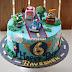Robocar Poli Cake - Baveshen 6 Years