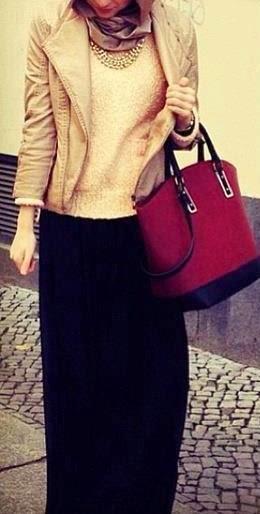 Hijab fashion inspiration mode 2015 hijab-fashion-winter