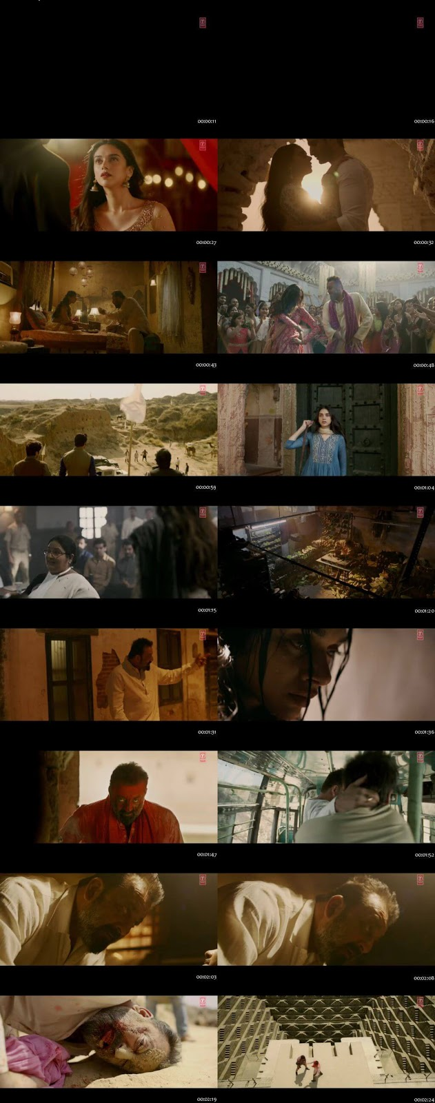 Screenshots Of Hindi Movie Bhoomi 2017 Trailer official 480P HD