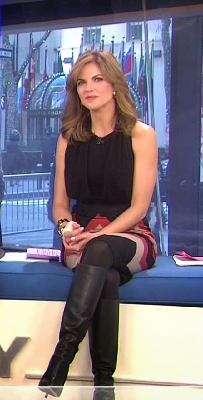 Female news anchors upskirt