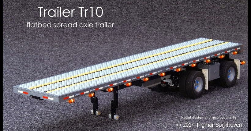 Spread Axle Trailer Weights : Ingmar spijkhoven trailer tr with instructions
