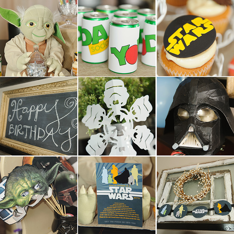 Star Wars Birthday Decorations Image Inspiration of Cake and