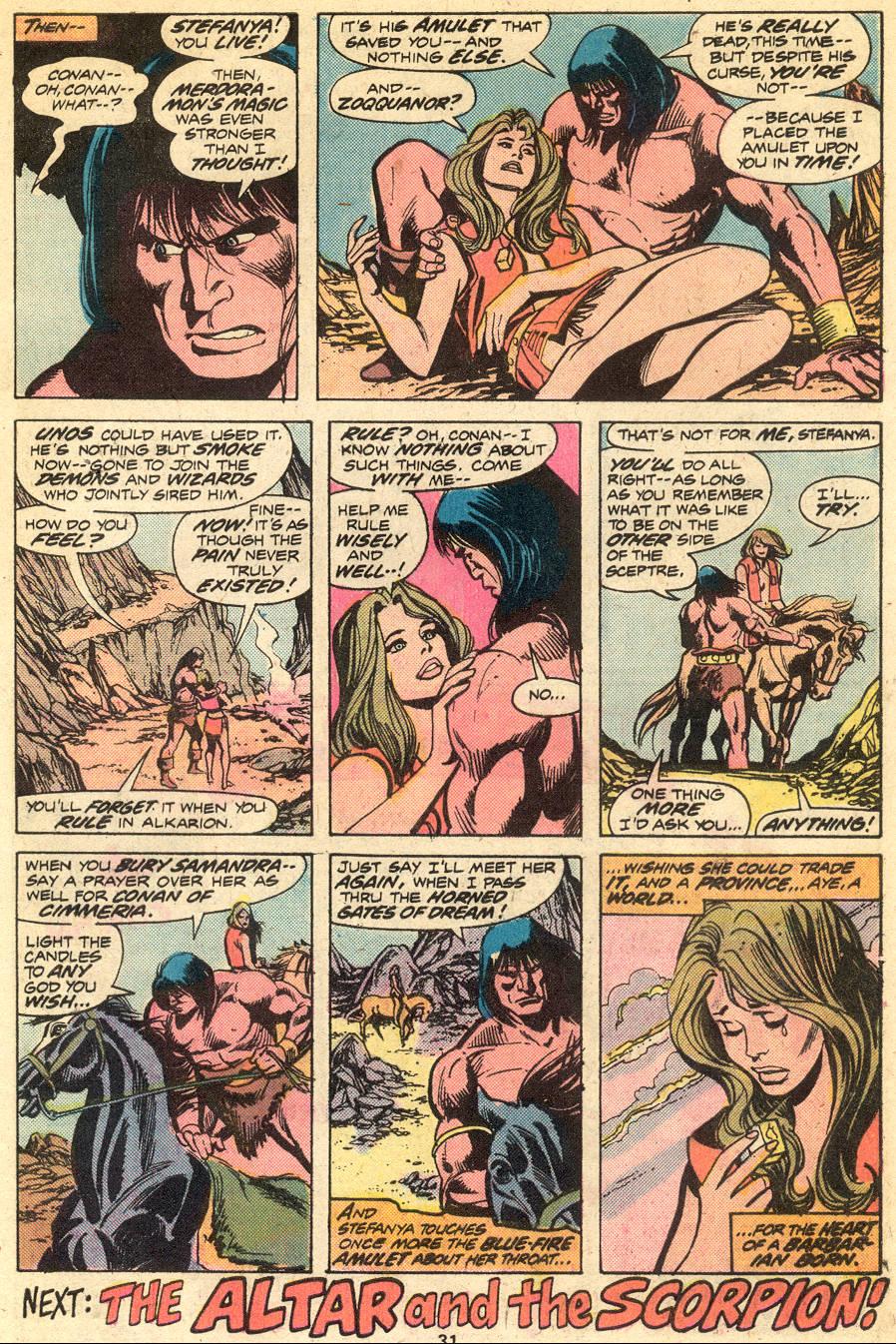 Conan the Barbarian (1970) Issue #51 #63 - English 19